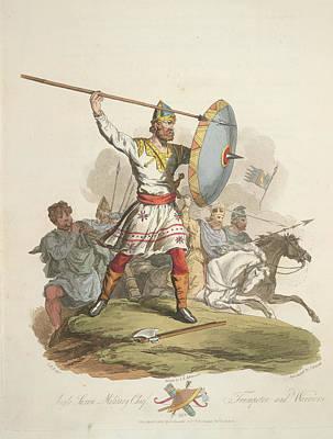 Anglo-saxon Chief Art Print