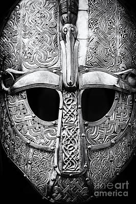 Embossed Photograph - Anglo Saxon Helmet by Tim Gainey