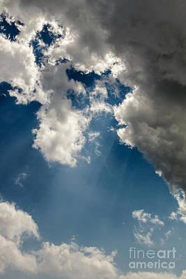 Photograph - Angry Cloud by Gene Berkenbile