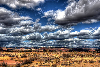 Photograph - Angry Clouds by Chuck Summers