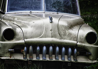 Rusted Cars Photograph - Angry by Joan Carroll