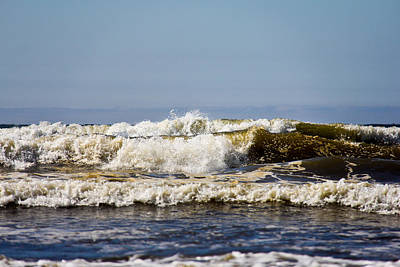 Sea Photograph - Angry Ocean by Aaron Berg