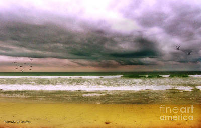 Digital Art - Angry October Sky by Rhonda Strickland