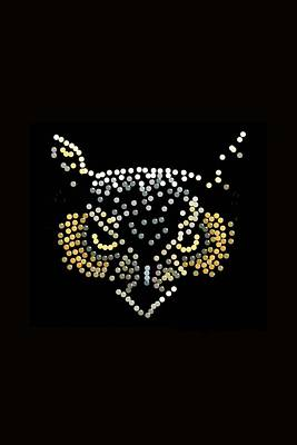 Digital Art - Angry Owl Bedazzled Mobile by R  Allen Swezey