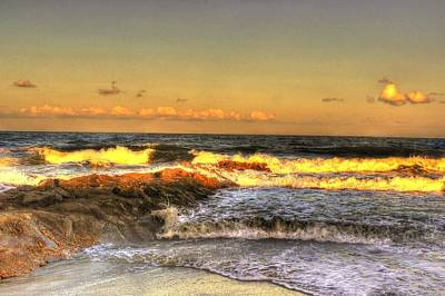Photograph - Angry Sea by Ed Roberts