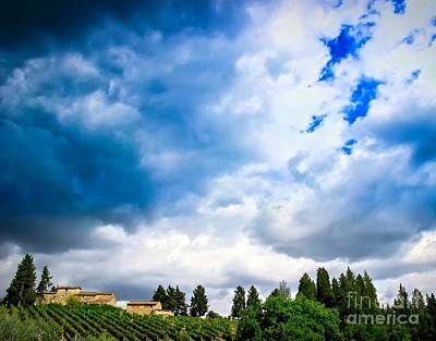 Photograph - Angry Skies by David Warrington