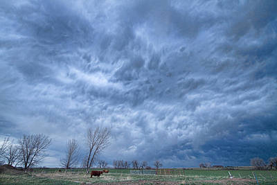 Valentines Day - Angry Skies by James BO Insogna