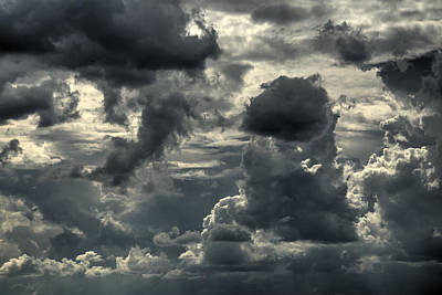 Photograph - Angry Sky 02 by Philip Rispin
