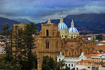 Immaculate Photograph - Angry Sky Over Cuenca Ecuador by Al Bourassa