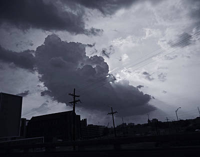 Photograph - Angry Sky Over New Orleans by Louis Maistros