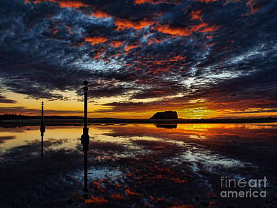 Art Print featuring the photograph Angry Sky by Trena Mara