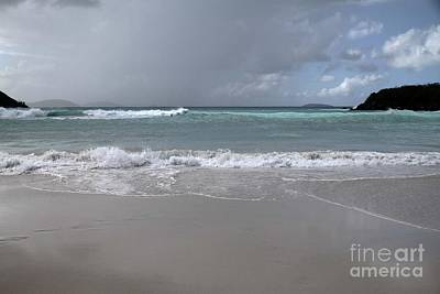 Photograph - Angry Trunk Bay by Betty Morgan