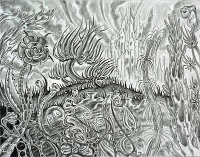Angst Ridden Art Print by Steven Bales