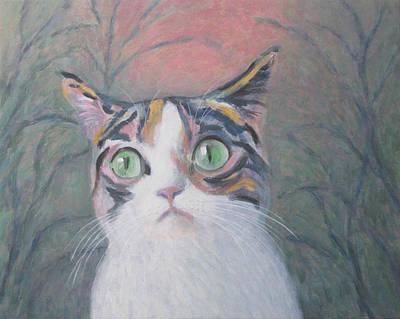 Anguish Of A Cat Original by Kazumi Whitemoon