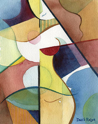 Painting - Angular Allure by David Ralph