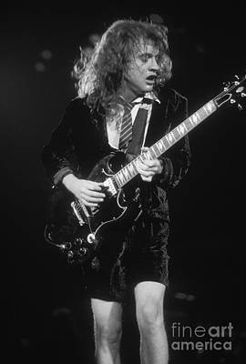Acdc Photograph - Angus Young by David Plastik