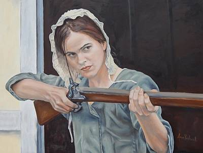 Painting - Ani Get Your Gun by Anne Kushnick