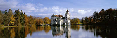 Anif Castle Austria Art Print by Panoramic Images