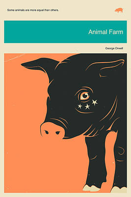 Animal Farm Art Print by Jazzberry Blue
