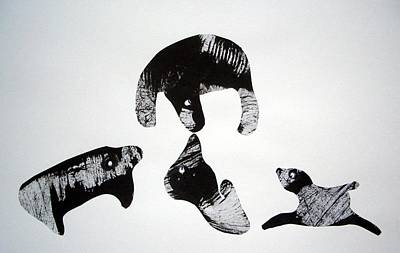 Animal World 120721-1 Art Print