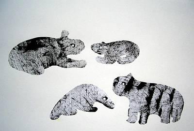 Animal World 120721-5 Art Print