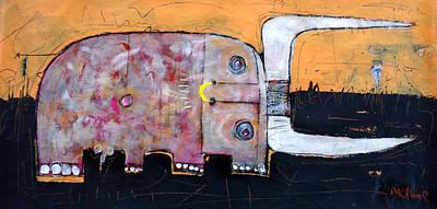 Bull Mixed Media - Animalia  Taurus 1 by Mark M  Mellon