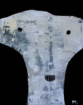 Outsider Art Mixed Media - Animus No 12 by Mark M  Mellon