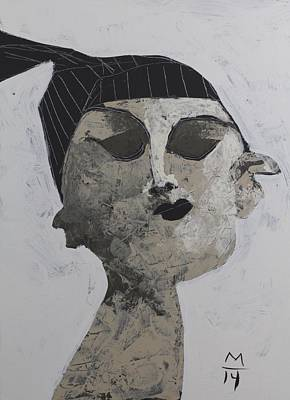 Female Mixed Media - Animus No. 57 by Mark M  Mellon