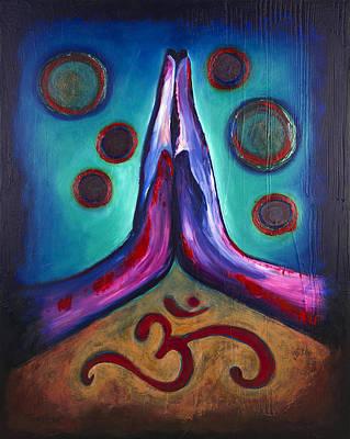 Anjali Om Namaste Hands Original