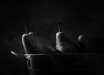 Digital Photograph - Anjou Pears by Jesse Castellano