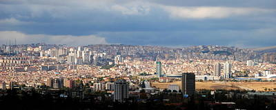 Photograph - Ankara - Panorama by Jacqueline M Lewis