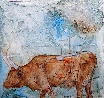 Ankole Cow Art Print