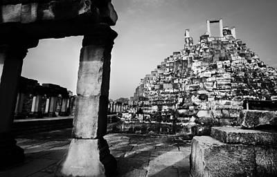 Photograph - Ankor Wat Ruin by Julian Cook
