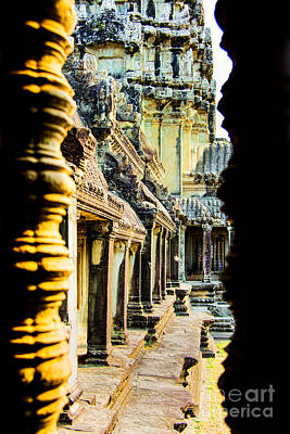Photograph - Ankorwat Color by Rick Bragan