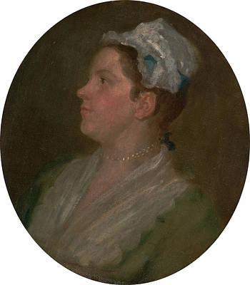 Hogarth Painting - Ann Hogarth Anne Hogarth, William Hogarth by Litz Collection
