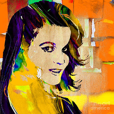 Cowgirl Mixed Media - Ann Margaret Collection by Marvin Blaine