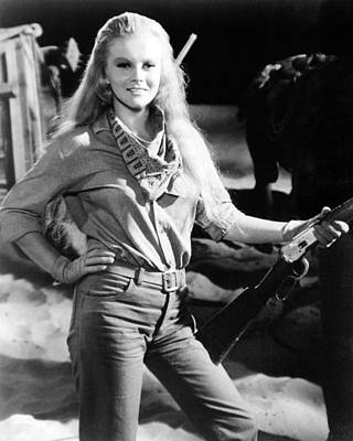 Ann-margret In The Train Robbers  Art Print by Silver Screen