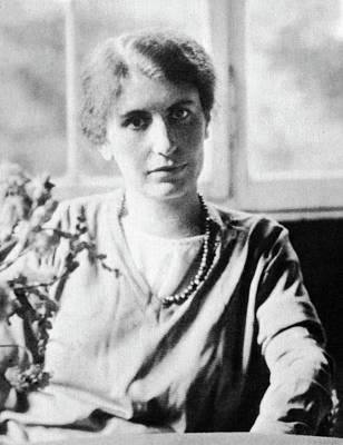 Psychoanalyst Photograph - Anna Freud (1895-1982) by Granger