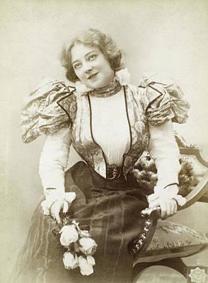 Anna Held (1865?-1918) Art Print