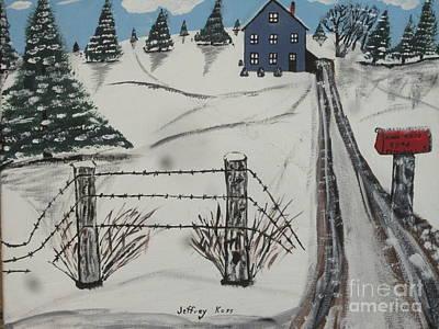 Anna Koss Farm Art Print by Jeffrey Koss