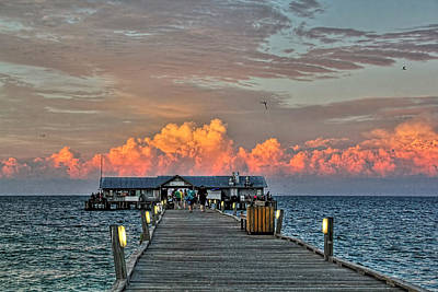 Photograph - Anna Maria City Pier by HH Photography of Florida