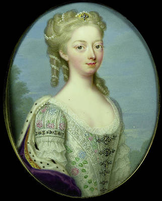 Anna, Princess Of Hanover, 1709-59, Wife Of William Iv Art Print