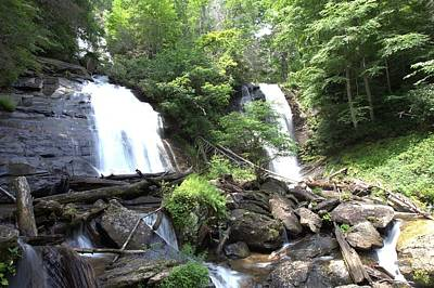 Photograph - Anna Ruby Falls - Georgia - 3 by Gordon Elwell