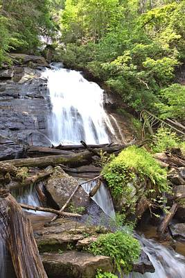 Photograph - Anna Ruby Falls - Georgia - 4 by Gordon Elwell