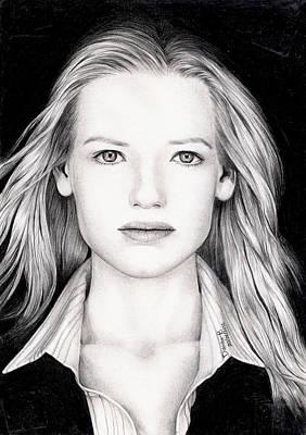 Olivia Drawing - Anna Torv- Olivia Dunham by Dianah B