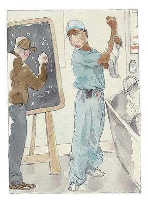 Teach Drawing - Annals Of Medicine by Barry Blitt
