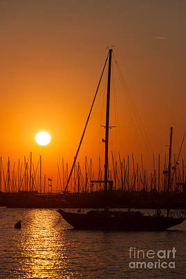 Photograph - Annapolis Harbor Sunrise II by Clarence Holmes