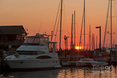 Photograph - Annapolis Harbor Sunrise IIi by Clarence Holmes