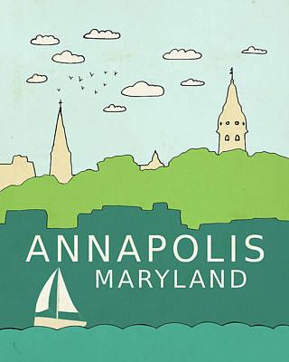 Annapolis Art Print