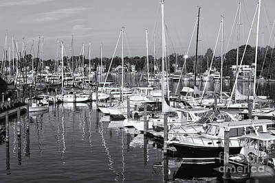 Photograph - Annapolis Yacht Club II by Clarence Holmes